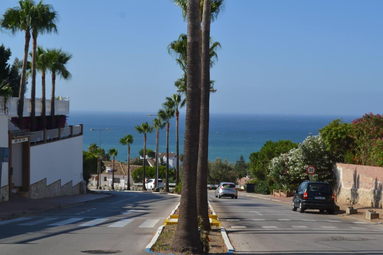 Avenida del Golf, camino a nuestra casa