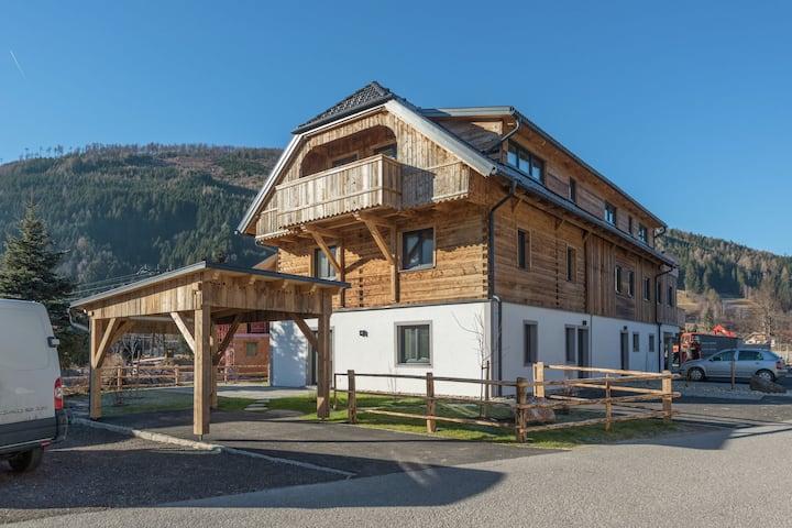 Casa de vacaciones moderna con terraza en Salzburgo