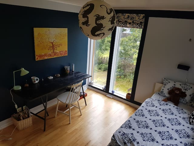 Private room next to lake