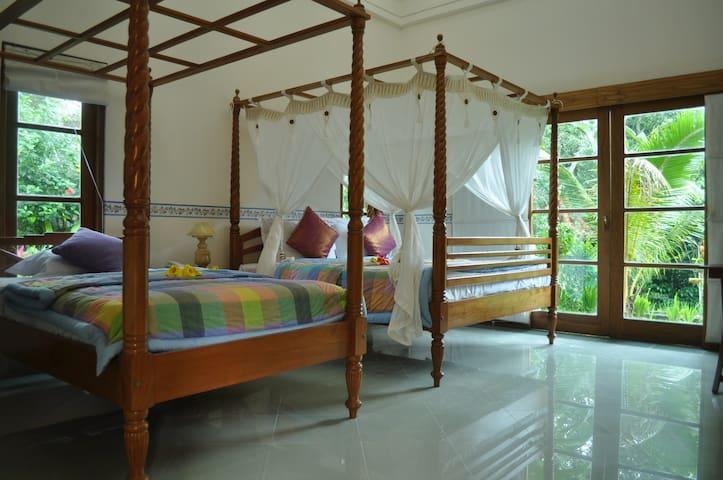 North Master Bed room