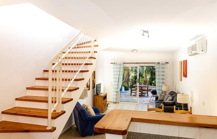 ★★★ Kato Paphos 2-bedroom (up to 6 guests) [Limnaria Gardens] duplex townhouse by Paphos4U.Club