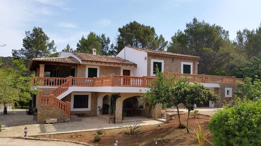 Rural finca with pool and amazing mountain views