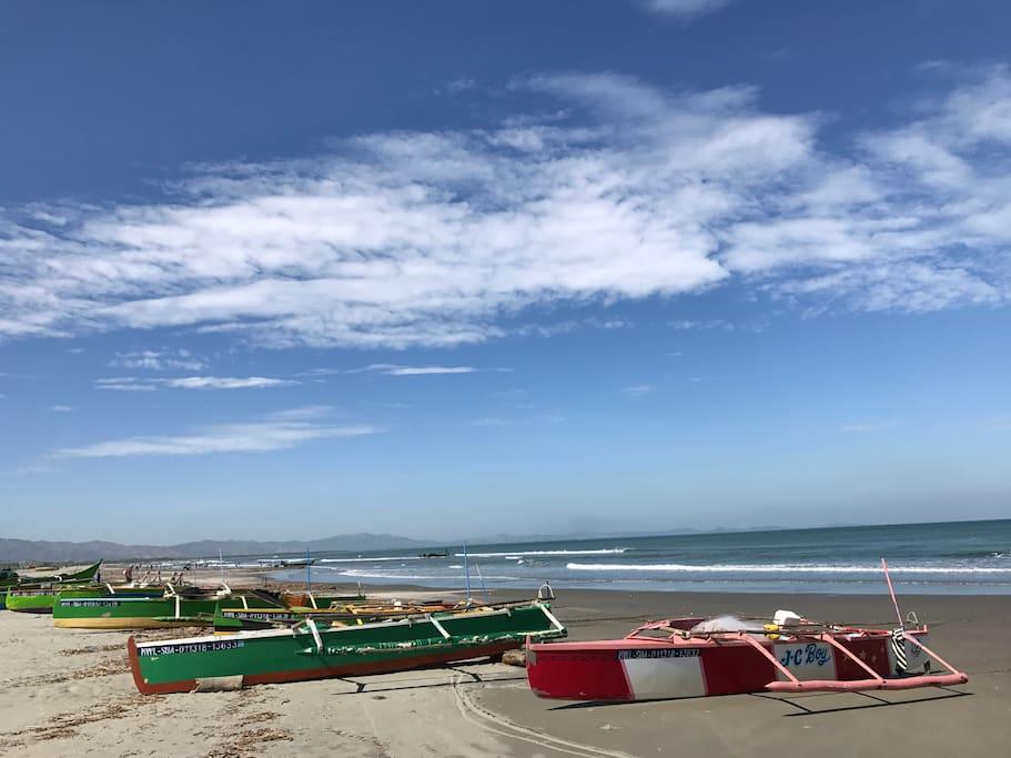 Lingayen Gulf Beach