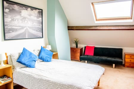 Super Spacious Double Loft Room - Bristol - Pis