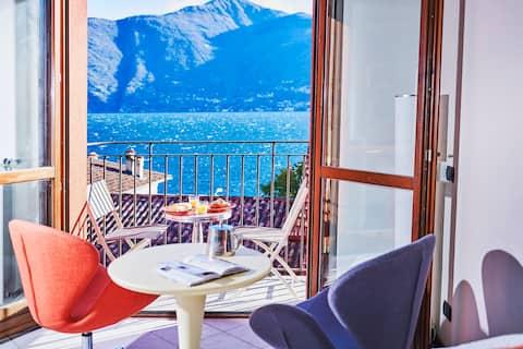 Romantic Lake View Apartment Lake Como- BEACH