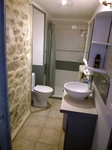 trés joli logement dans maison bretonne - Pont-Croix - Lägenhet