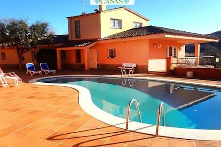 Villa Arbucies in Girona for 8 - Arbúcies - House - 0
