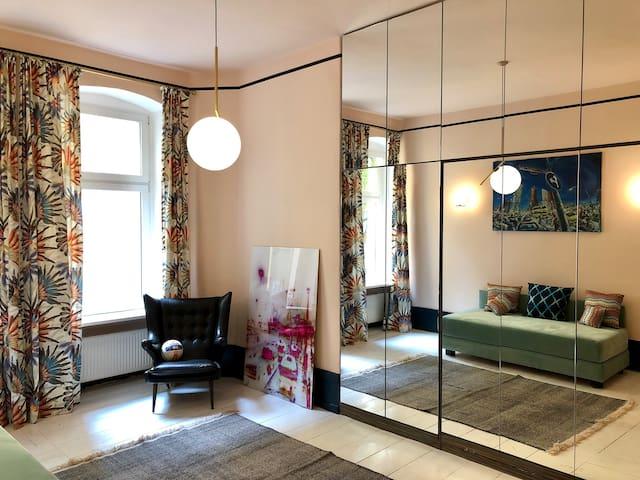 Design Appartement nähe Kollwitzplatz