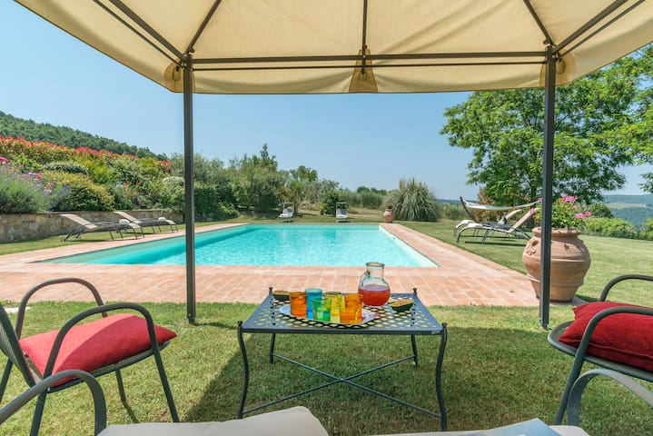 Lovely stone house with pool near Todi - Todi