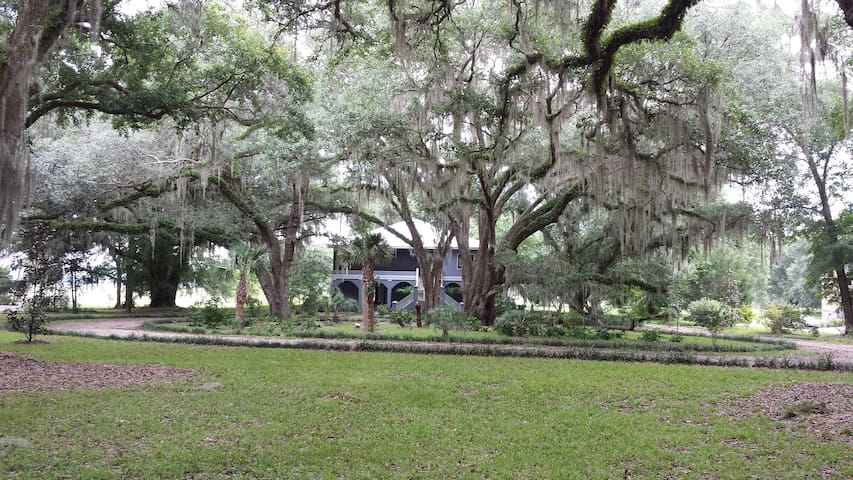 TLH Lake Home in 5 acres near I-10! - Tallahassee - Casa