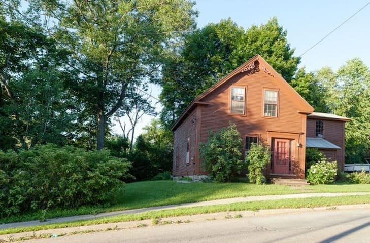 1860s funky Village House right in Waterbury