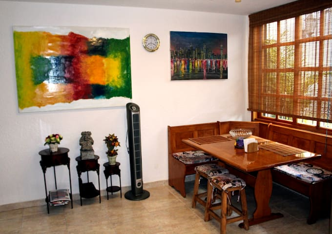 Lovely and Cozy Apartment near downtown. - Cidade do México - Casa