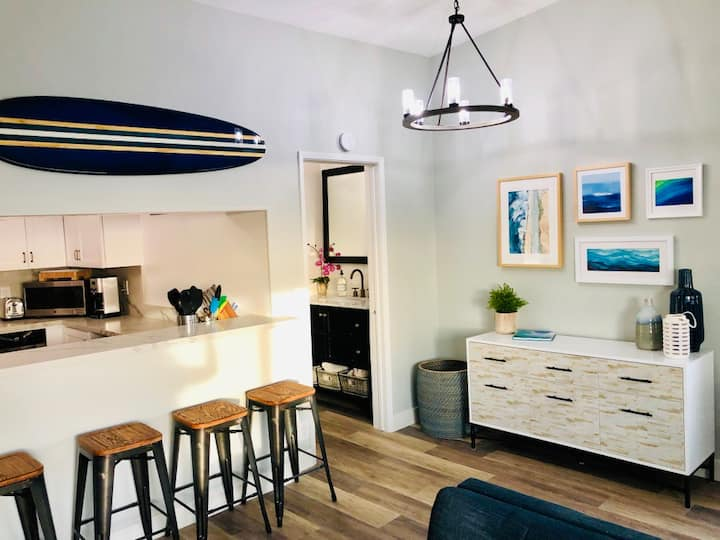 Block to Beach, Surf & More - Newly Renovated