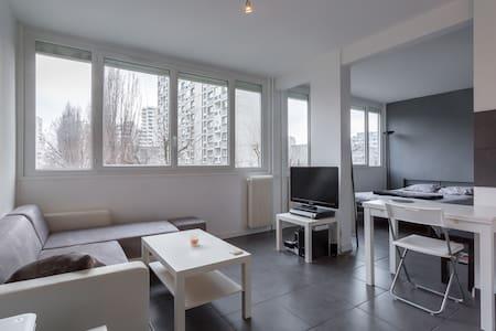 30m2 ensoleillé et au calme + place de parking - Villeurbanne - Apartmen