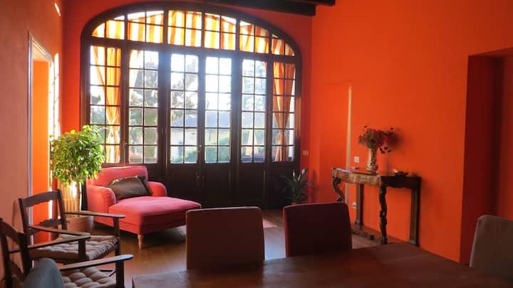 Villa con giardino vicina a  Como e Golf Club