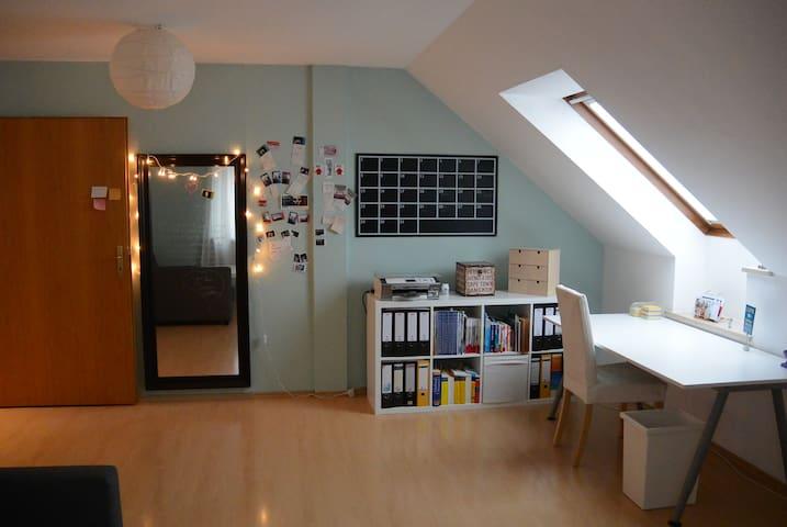 2 schöne Zimmer mit Bad / stadtnah - Veitsbronn - Apto. en complejo residencial