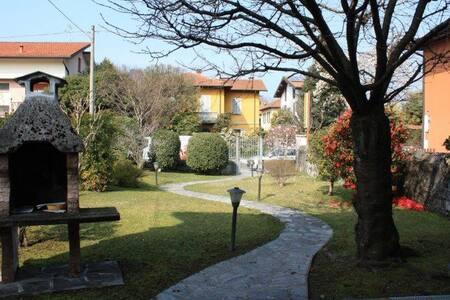 villa singola con giardino - Laveno-Mombello - Haus