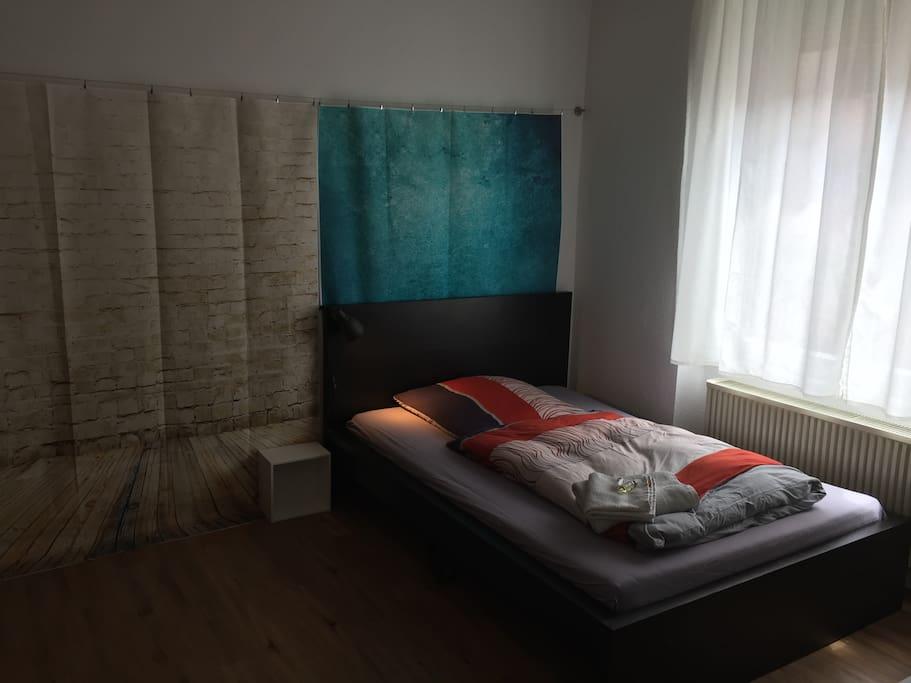 Schlafzimmer (dein Schlafplatz)