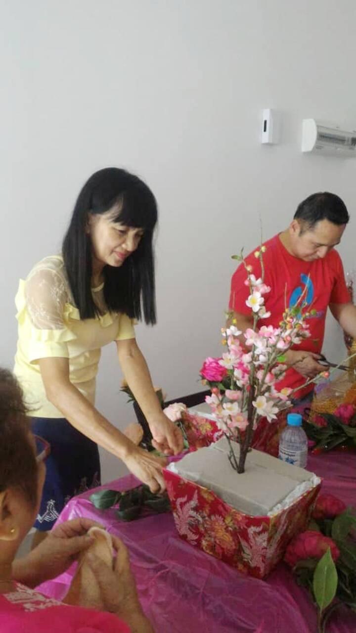 CNY Silk Flowers Workshop