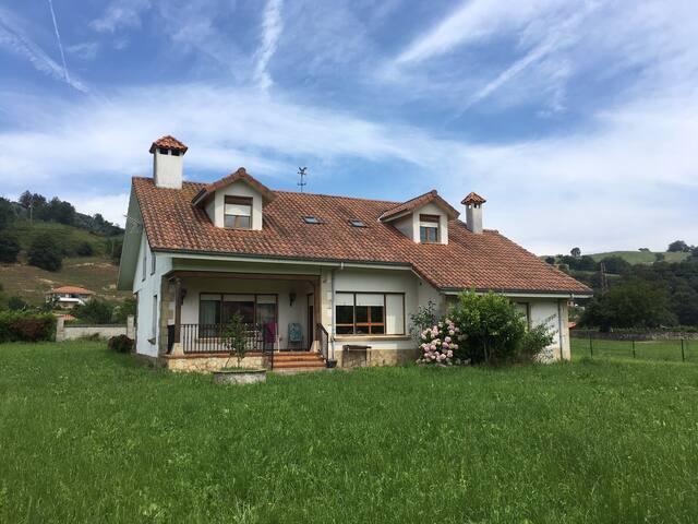 Bonita casa de vacaciones en Liérganes