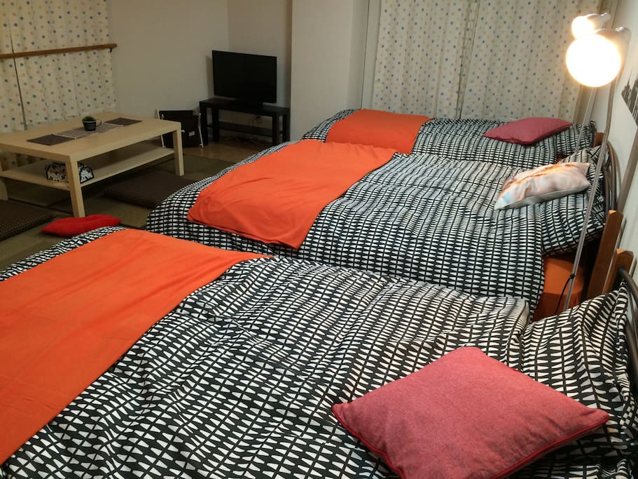 Double Bed 2 & Single Bed