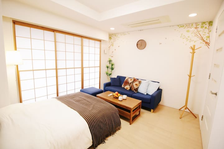 8 Minutes walk to the Tsukijishijo Market  No.2 - Tokio - Appartement