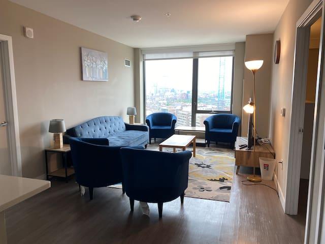 Luxury apartment TD Garden Location