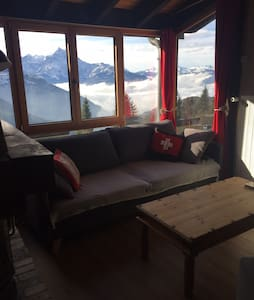 Vire Aufalle 2 chambres 1/2 Apartment ski-in