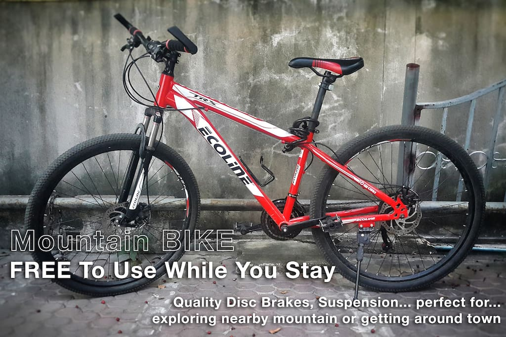 Mountain Bike | FREE To Use While You Stay
