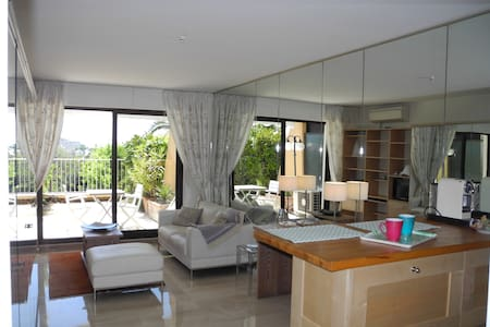 Luxurious apartment overlooking Nice - Nice - Daire