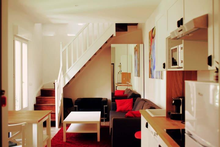 Duplex 45sq.m - 300m from beach-clim