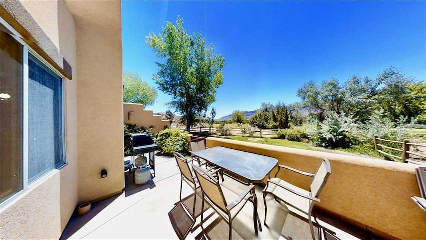 3 Bed 2 Bath Town Home On Moab Golf Course With Second Floor Deck, Terrace  - Castle View~ 3368