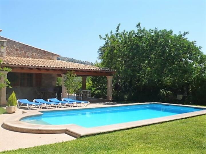 Villa Familiar en Pollensa, Mallorca