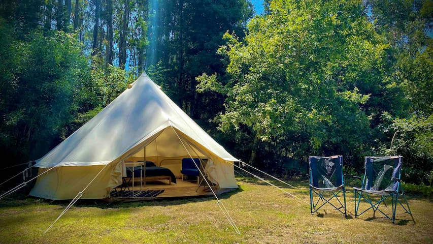 Bell tent 🍋 - NaturViana naturismo