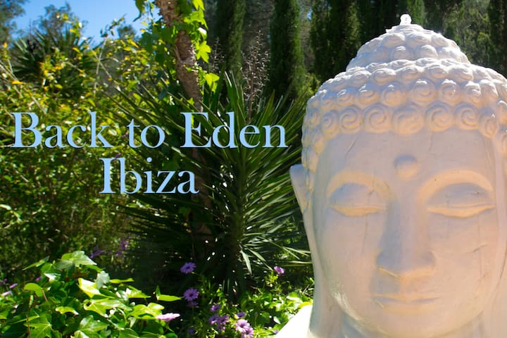 """""""BACK TO EDEN""""  a lost paradise, in Ibiza. - Sant Rafel de sa Creu - Huis"""