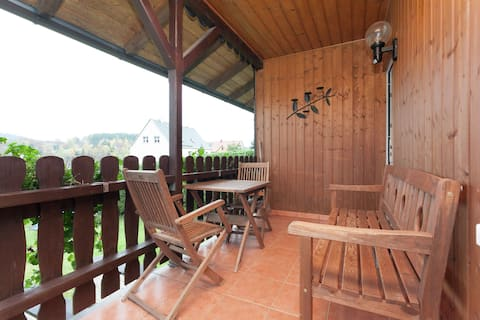 Holiday Home in Altenfeld with Private Garden, Terrace, BBQ