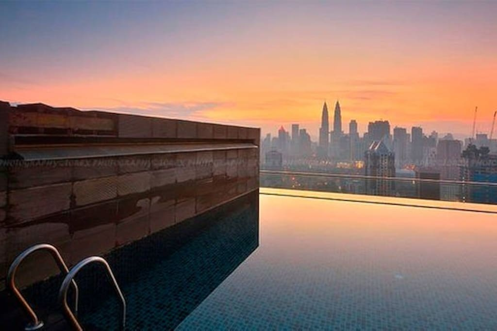 W4 Rooftop Infinity Pool Near Klcc Apartments For Rent In Kuala Lumpur Federal Territory Of