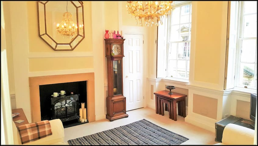 Superb Grade I Listed central Georgian apartment! - Bath - Appartement