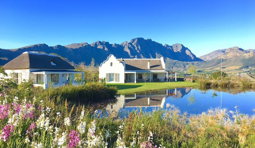 Luxury House on Beautiful Franschhoek Estate