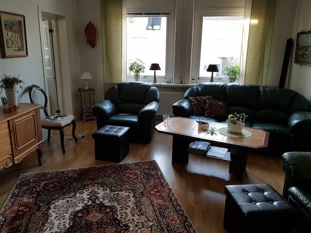 Centrumnära lägenhet i Örnsköldsvik