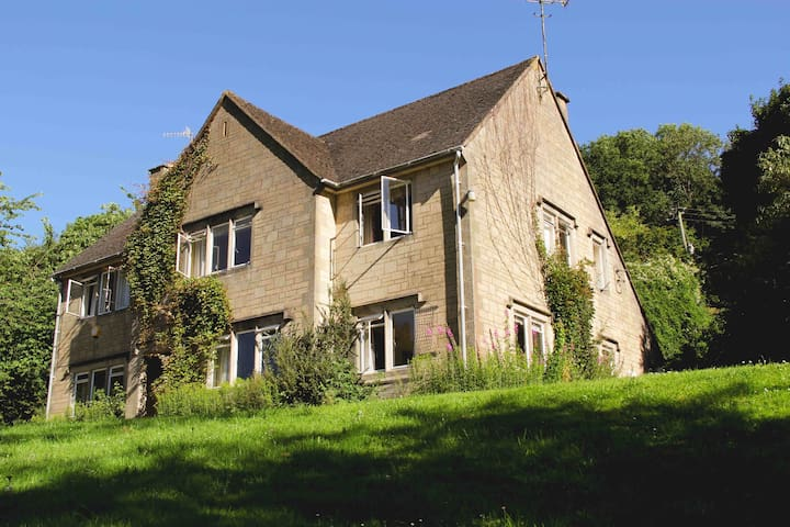 Over Court is a semi-detached house in a wonderful rural location
