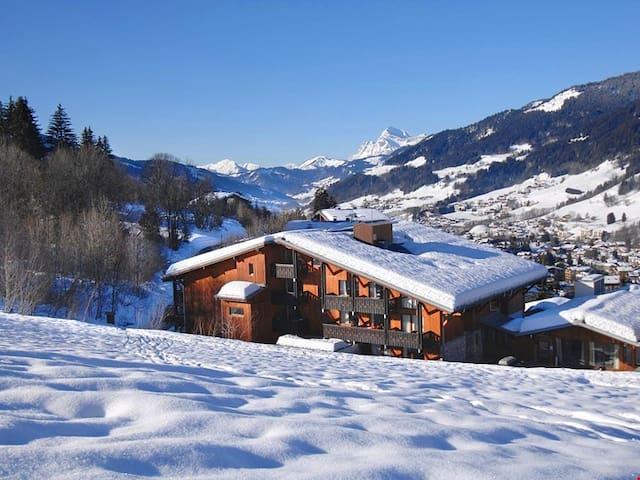 Appartement de montagne à 1km du centre | Wi-Fi Gratuit, accès sauna