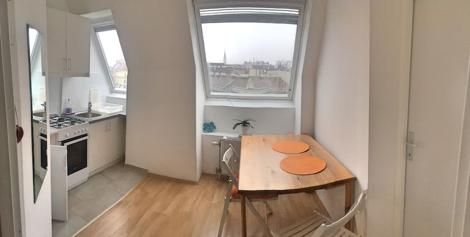 Cozy and sunny studio @ heart of Vienna - Wien - Apartment
