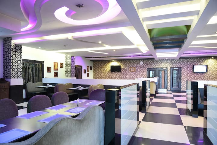 One stop destination for comfort with Inhouse Restaurant