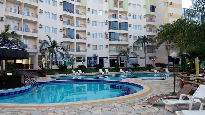 Apto. Thermas Paradise - Rio Quente (6 pessoas)