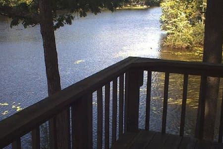 B&B Waterfront Penthouse in the Pines with Canoe - Augusta