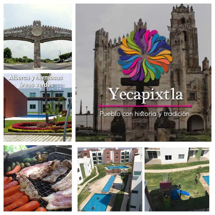 Renta de Departamento para Fines de Semana en Yecapixtla Morelos