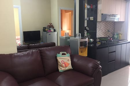 Perfect location in JKT-Green Pramuka Apart, 2 BR