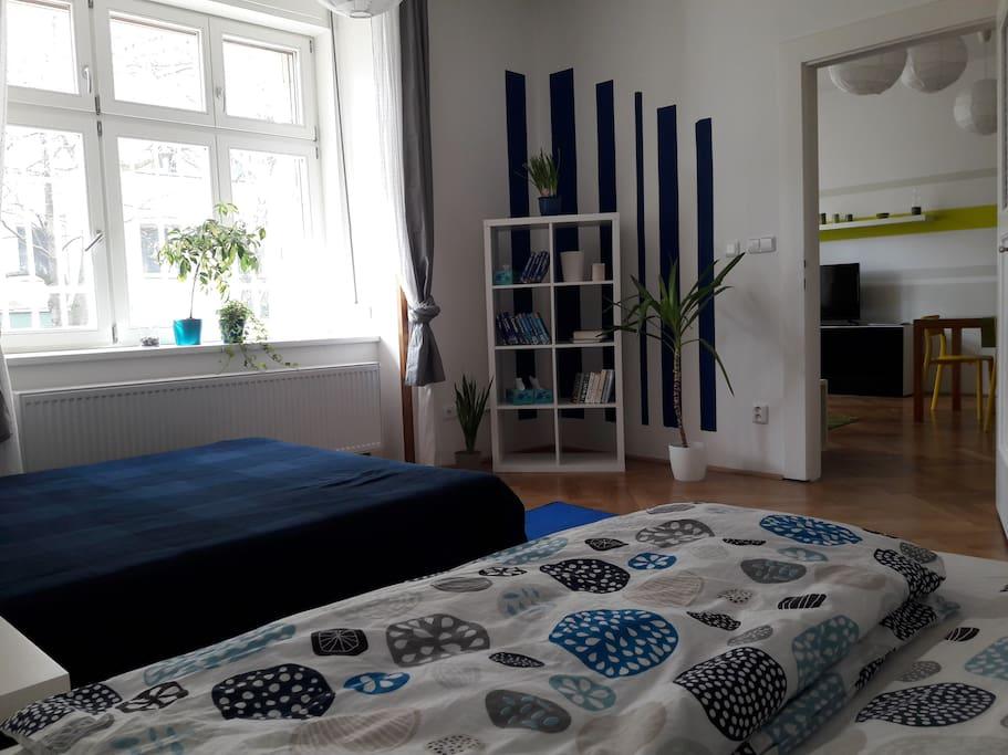 'Blue' bedroom