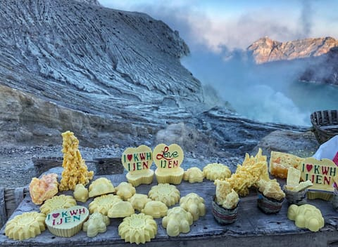 Ijen Crater East Java